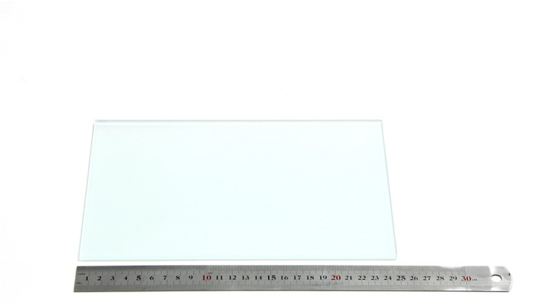 Add3D - Frosted glass build platform - 248x162mm